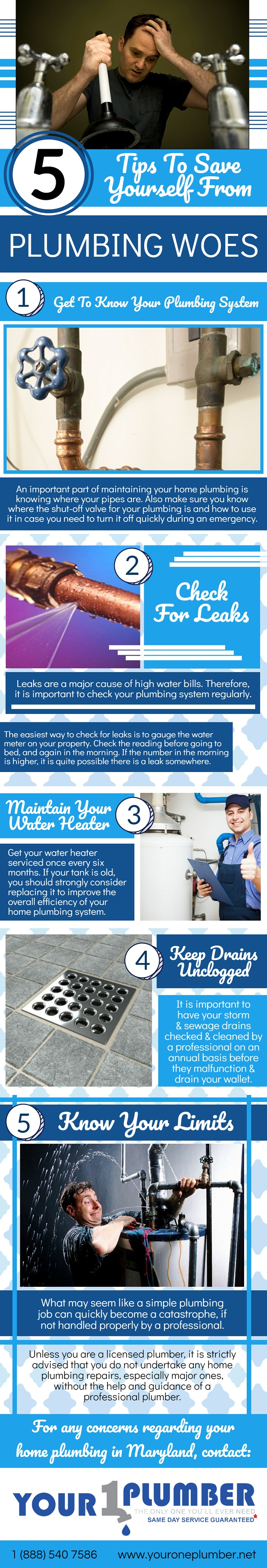 5 Tips to Save Yourself from Plumbing Woes