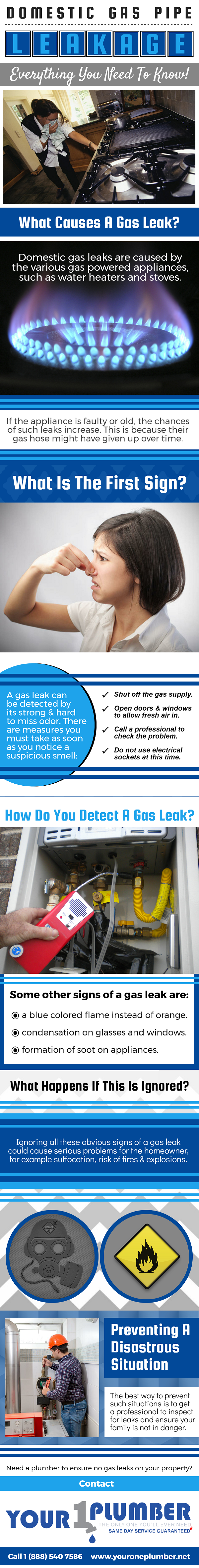 Domestic Gas Pipe Leakage